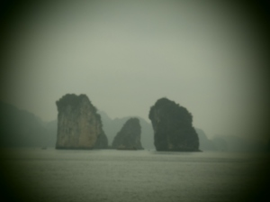 Ha Long Bay Limestone islands